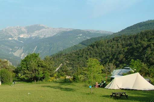 Castillon de Provence: Camping-Bungalow Parc Naturiste (3)