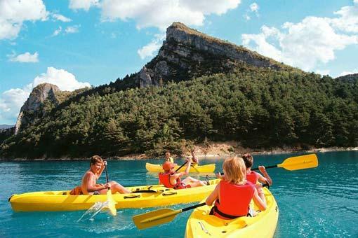 Castillon de Provence: Camping-Bungalow Parc Naturiste (4)
