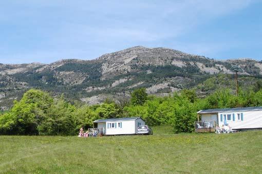 Castillon de Provence: Camping-Bungalow Parc Naturiste (5)