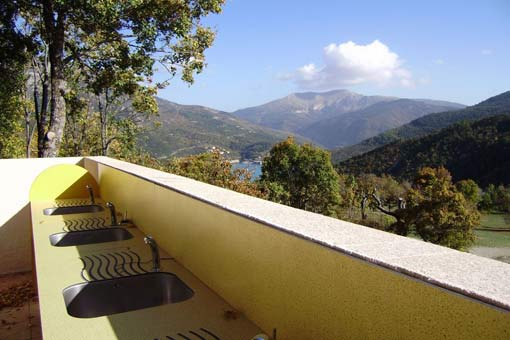 Castillon de Provence: Camping-Bungalow Parc Naturiste (6)