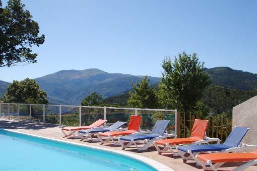 Castillon de Provence: Camping-Bungalow Parc Naturiste (2)