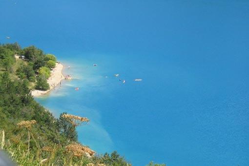 Castillon de Provence: Camping-Bungalow Parc Naturiste