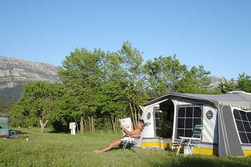 Castillon de Provence: Camping-Bungalow Parc Naturiste (9)