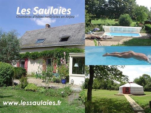 Les Saulaies chambres d'hôtes naturistes (2)