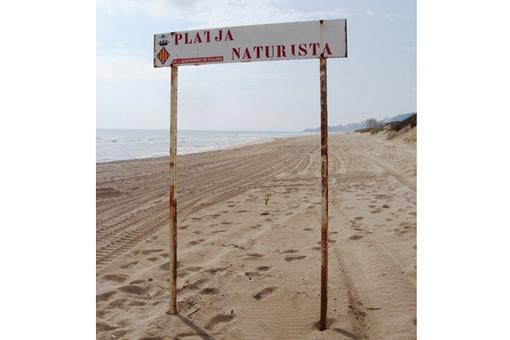 Playa naturista Cullera