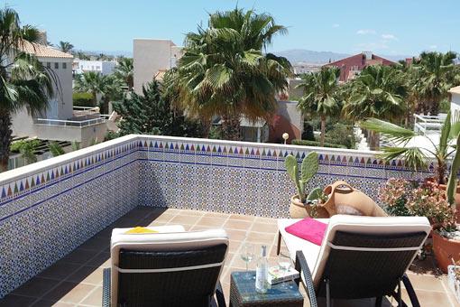 Casas Vera Naturista - Beleef het! Ervaar het! - zwembad Casa Cielo Azul - zwembad Casa Mar Y Luz - Casa Cielo Azul