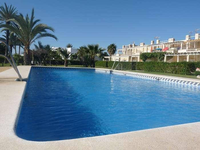 Casas Vera Naturista - Beleef het! Ervaar het! - zwembad Casa Cielo Azul - zwembad Casa Mar Y Luz