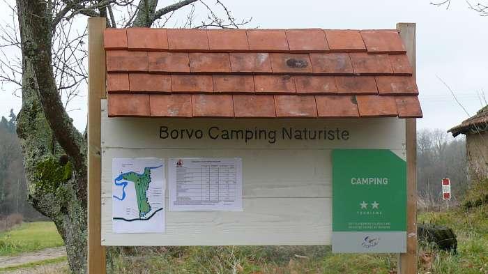 Borvo Camping Naturiste