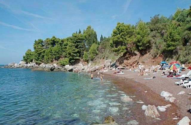 Nudistika Plaža Crvena Glavica: Camping Crvena Glavica