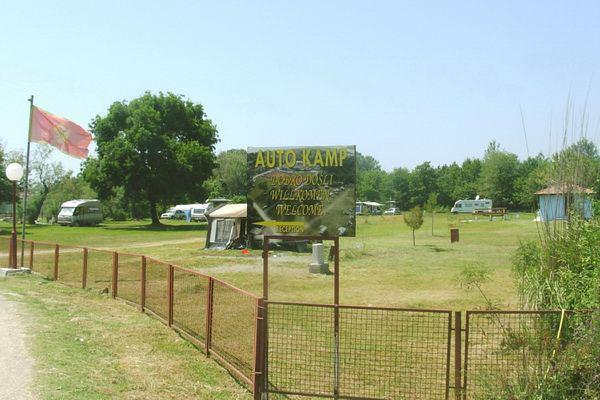 Ada Bojana FKK: Camping Naturiste