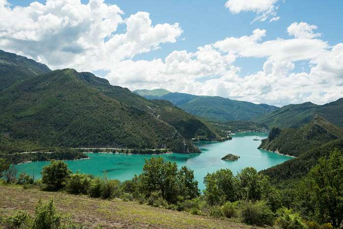 Castillon de Provence: Camping-Bungalow Parc Naturiste - Anne