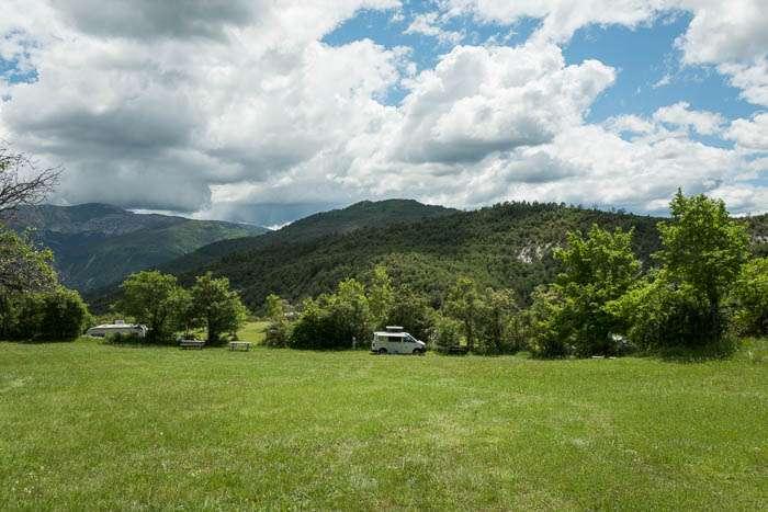 Castillon de Provence: Camping-Bungalow Parc Naturiste - Anne (2)