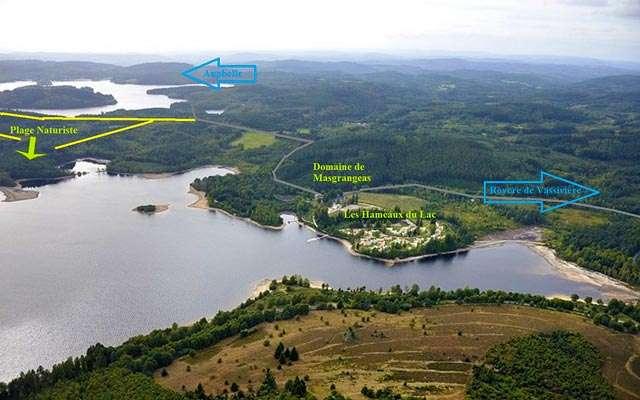 Aire Naturiste du Maillereau: Lac de Vassivière