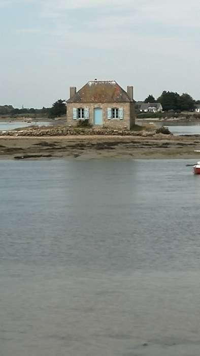 La Pinede: Club Naturiste Bretagne Sud - Holger - Das Austernfischerhaus bei St. Cado