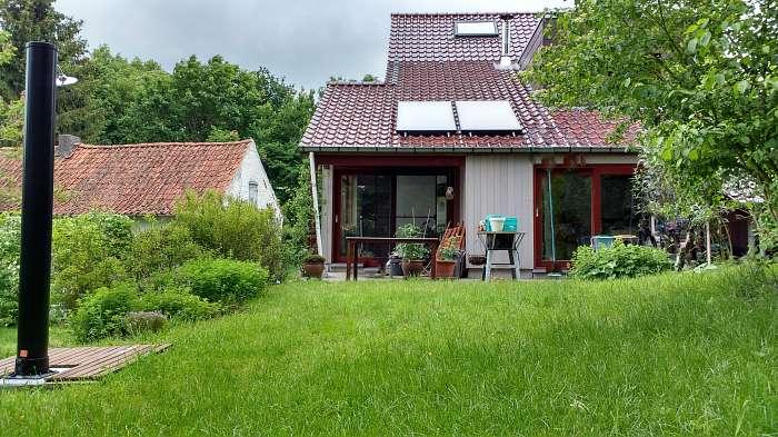 Huis met tuin zonder inkijk te koop, 30 km onder Gent (België)