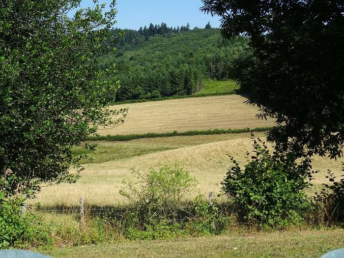 Domaine de la Gagère - Uitzicht huisje