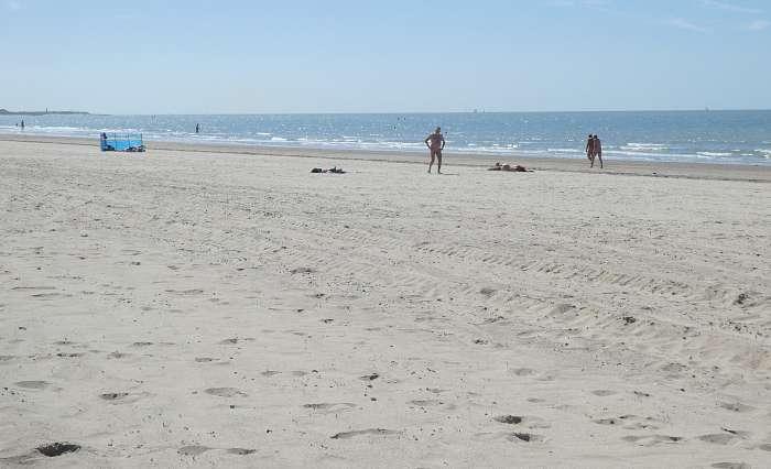 Breskens (Groede) - Mars - Mooi schoon net strand