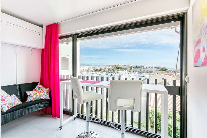Studio SilverLine Venus - Residènce Port Venus - Village Naturist - Cap d'Agde (8)