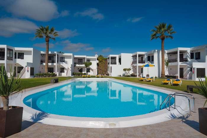 Charco del Palo apartments in der FKK Ferienanlage Castillo de Papagayo